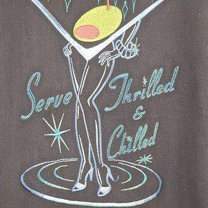 Tommy Bahama Embroidered Bikinitini Camp Shirt, XL